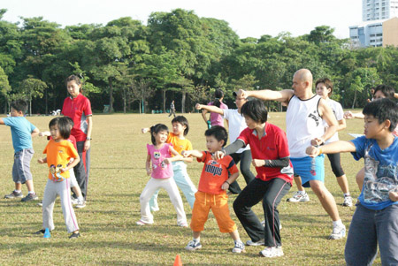 Wushu workshop for kids and parents