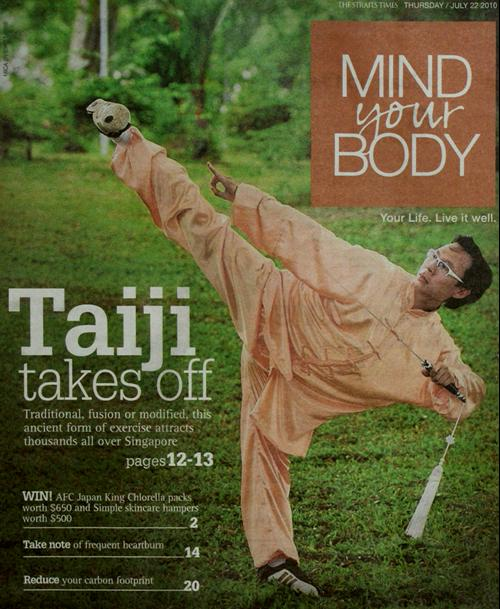 Straits Times Mind Your Body July 2010